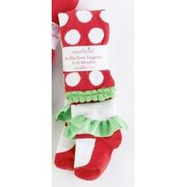 Mallas De Bolas Navidad Bebe Niña Marca Mud Pie