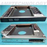Case Disco Duro Laptop 2do Disco Caddy Odd Sata 2nd Hdd 12mm