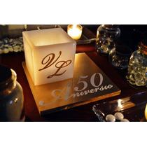 Centro De Mesa Para 50 Aniversario Aluzza.