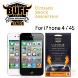 Película Iphone 4 4s Buff Ultimate Anti-shock Risco Impacto
