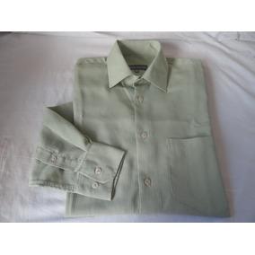 Camisa Empório Colombo Social Manga Longa.n.02-37/38-verde
