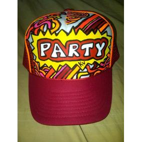 Gorra Personalizadas A Mano Neon Party cbaccb1408d