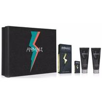 Kit Animale For Men 100ml +7,5ml+gel +creme De Barba 100g Cd