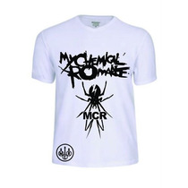Camisas Camisetas My Chemical Romance Rock Pop Banda Reggae