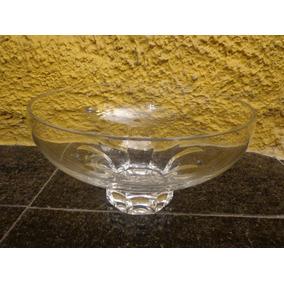 Antigo Centro De Mesa Em Cristal - R 3469