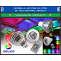Bombilla Deled Rgb 3w Mr16 12v Multicolor Control Remoto
