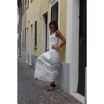 Vestido Largo Made In Italy