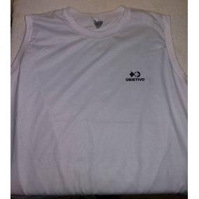 Lote Uniforme Escolar Colégio Objetivo- 2 Camisetas Regata