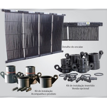 Coletor Solar/ Aquecedor Solar Para Piscinas Selo Do Inmetro