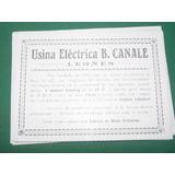 Cordoba Clip Usina Electrica B. Canale Leones Hielo