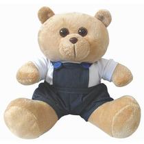 Urso Colegial G - Lindo Urso De Pelúcia