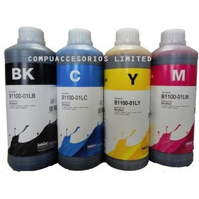 Kit 4 Litros De Tinta Marca Inktec Para Cartuchos Brother Lc