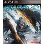 Nuevo Y Sellado Metal Gear Rising Revengeance Ps3 Subtitulos