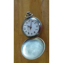 Antiguo Reloj Suizo De Bolsillo Roskopf Funcionando!