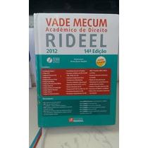 Vade Mecum : Acadêmico De Direito - Rideel 2012 - 14°edição