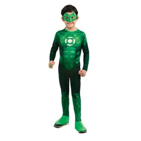 Disfraz Niño Traje De Hal Jordan Linterna Verde Niño - Un C