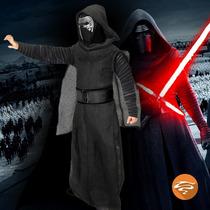 Fantasia Adulto Star Wars Vii Kylo Ren Luxo Longa Rubies