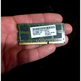 Memória Ram 2gb 2rx8 Pc3 10600s