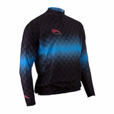 Camisa Manga Longa/curta De Ciclista Progne Corrida Esportes