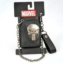 The Punisher Marvel Cartera Cadena Importada 100% Original