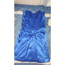Vestido Azul Elegante Corto Marca Soya