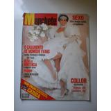Revista Manchete - O Casamento Monique Evans,collor 1989