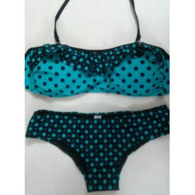 Bikini Malla Lunares Colores Colección Verano 2014