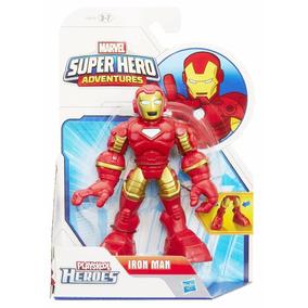 Boneco Homem De Ferro Iron Man Marvel Playskoll Heroes