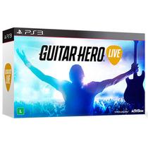 Guitar Hero Live Com Guitarra Oficial Ps3 - Activision