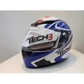 Capacete Tech3 F500 Force Italy Branco/azul - 60
