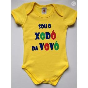 Body Infantil Sou O Xodó Da Vovó Personalizado Dinda Frases