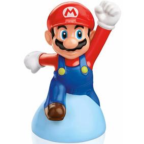 Mario Saltador Mc Donalds Lanche Super Mario Nintendo Leia