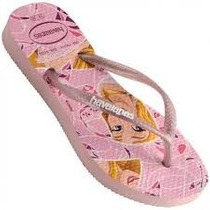 Chinela Havaiana Top Marrie Rosa Correia Grossa