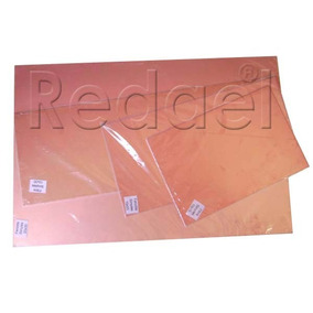 Placa De Fenolite Cobreada 20x25 Pci Circuito Impress Virgem
