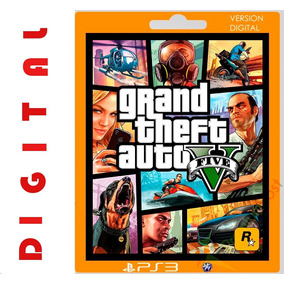 Grand Theft Auto 5 Ps3 Digital
