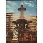 Cartão Postal Antigo Rio De Janeiro Chafariz Praça Bandeira