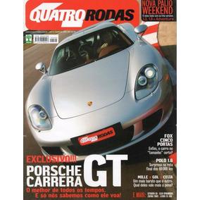 Quatro Rodas Nº525 Porsche Carrera Gt Polo Mille Gol Celta