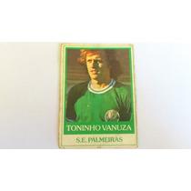 Futebol Cards Toninho Vanusa Palmeiras Ping Pong Novo