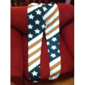 Leggins Bandera De Usa (nuevo E Importado)