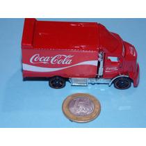 Caminhão Coca Cola.unico Do Ml.hw Truck Esc.1.64.novo.8cm.