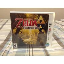 The Legend Of Zelda A Link Between Worlds Nuevo Sellado
