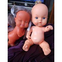 Boneca Antiga Chuquinha E Boneca Peladinha Lote