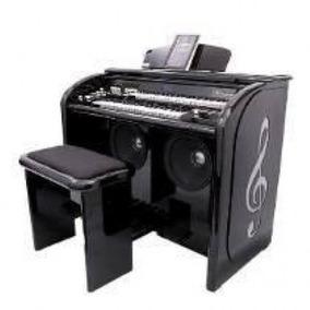 Orgão Eletrônico Acordes 2d Top Elegance Preto