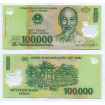 Vietnam 100000 Dong Año 2013 Plastico Sin Circular P# 122