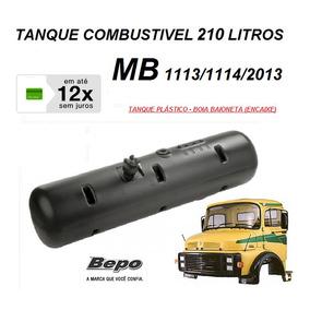 Tanque Combustivel Caminhão Mb 1113 1114 210 Litro 344700603