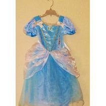 Disfraz Cenicienta Con Luz Disney Store 100% Original