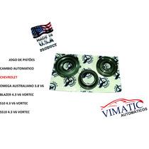 Jogo De Pistões Cambio Automatico 4l60e - Blazer, S10, Ss10