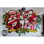 Murales Decorativos Infantiles Abstractos Graffiti Pintura