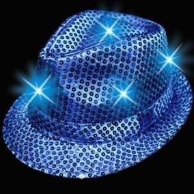 Sombrero Luminoso Led Para Fiesta Y Animacion Eventos