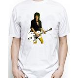 Camisetas Izzy Stradlin Ex Guns N Roses Tradicional-babylook